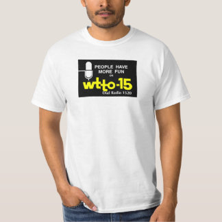 WTTO 1520 AM Toledo 1967 era Logo T-Shirt