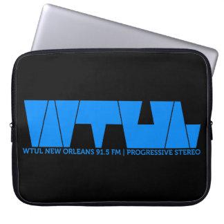 WTUL Radio Station Laptop Sleeve