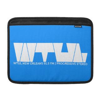 WTUL Radio Station Macbook Air Sleeve