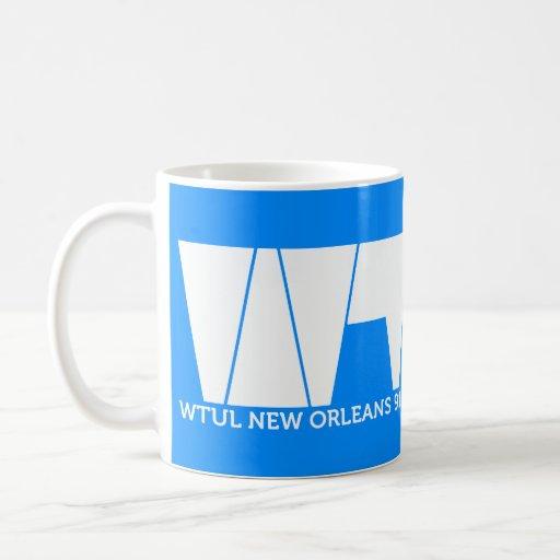 WTUL Radio Station Mug