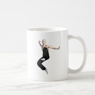 Wu Shu Form about to kick to the front Coffee Mug