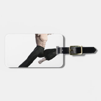 Wu Shu Form coming down to the front Luggage Tag