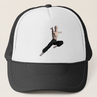 Wu Shu Form coming down to the front Trucker Hat