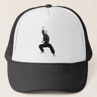 Wu Shu form with squat Trucker Hat