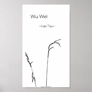 Wu Wei Posters