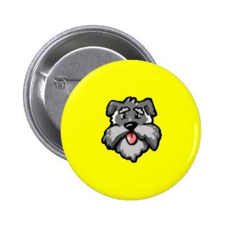 Wuff Pinback Buttons