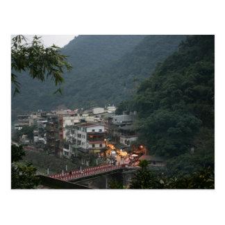 Wulai, el condado de Taipei, Taiwán Postales