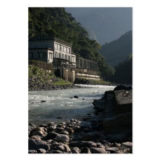Wulai power station, Wulai, Taipei County, Taiwan Business Card Templates