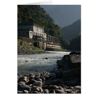 Wulai power station, Wulai, Taipei County, Taiwan Greeting Card