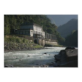 Wulai power station, Wulai, Taipei County, Taiwan 5x7 Paper Invitation Card