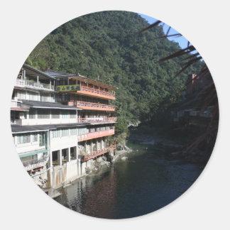 Wulai, Taipei County, Taiwan Round Sticker