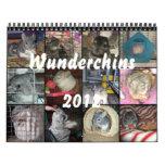 Wunderchins 2012 calendar
