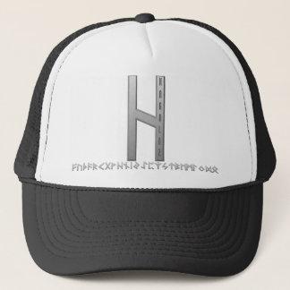 Wunjo Rune grey Trucker Hat