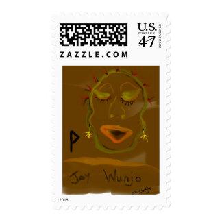 wunjojoy postage stamp