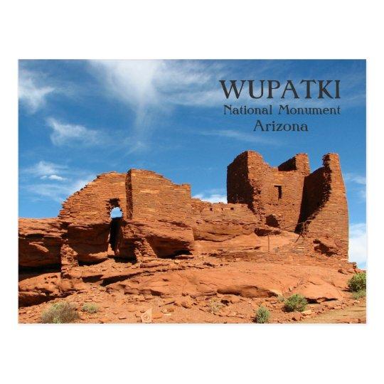 Wupatki Postcard! Postcard