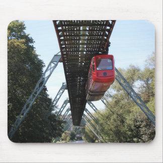 Wuppertal Floating Train / Wuppertaler Schwebebahn Mouse Pad