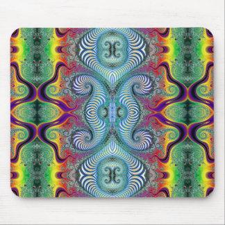 Wurburbo Fractal Art Design Mouse Pad