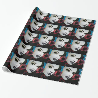'würdest du jedes morgen' on Glossy Wrapping Paper