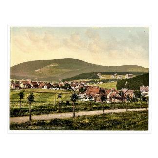 Wurmberg, Braunlage, Hartz, Germany rare Photochro Postcard