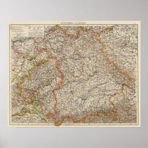 Wurtemberg, Baviera Impresiones