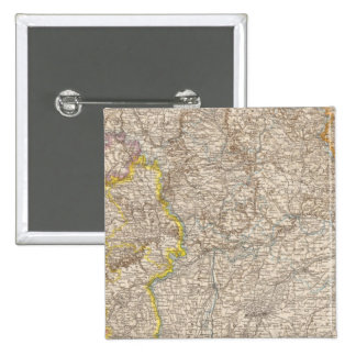 Wurttemberg, Bayern Atlas Map of Germany Button