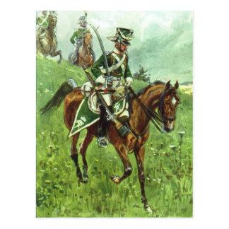 Württemberger Dragoon Postcard