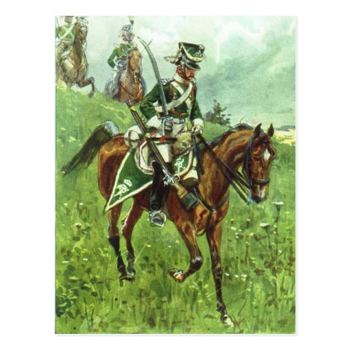 Württemberger Dragoon Post Cards