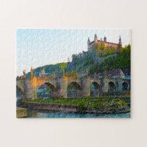 Würzburg Bavaria Germany. Jigsaw Puzzle