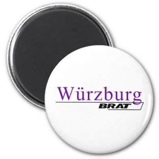 Wurzburg Brat -A001L 2 Inch Round Magnet