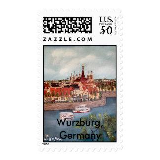 Wurzburg, Germany Postage