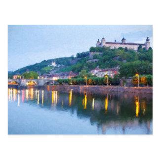 Würzburg view postcard