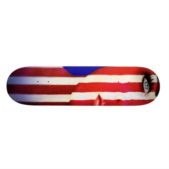 wUSA Skateboard