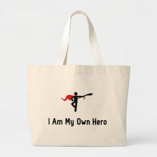 Wushu Hero Large Tote Bag