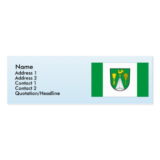 Wusterhusen, Germany Double-Sided Mini Business Cards (Pack Of 20)