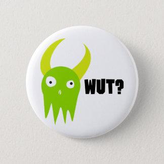 Wut Monster Pinback Button