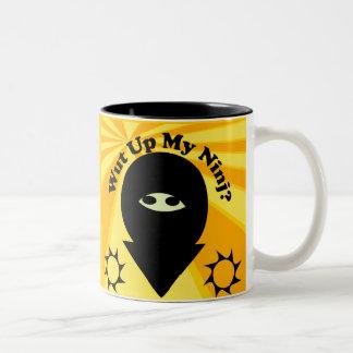 Wut Up My Ninj Mug