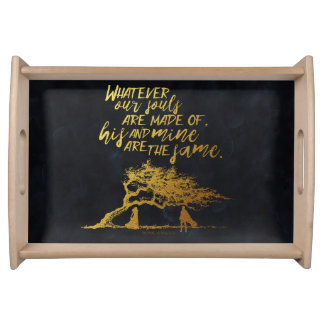 Wuthering Heights black tray