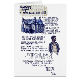 Wuthering Heights Card