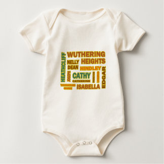 Wuthering Heights Characters Baby Bodysuit