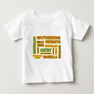 Wuthering Heights Characters Baby T-Shirt