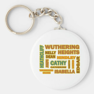 Wuthering Heights Characters Basic Round Button Keychain