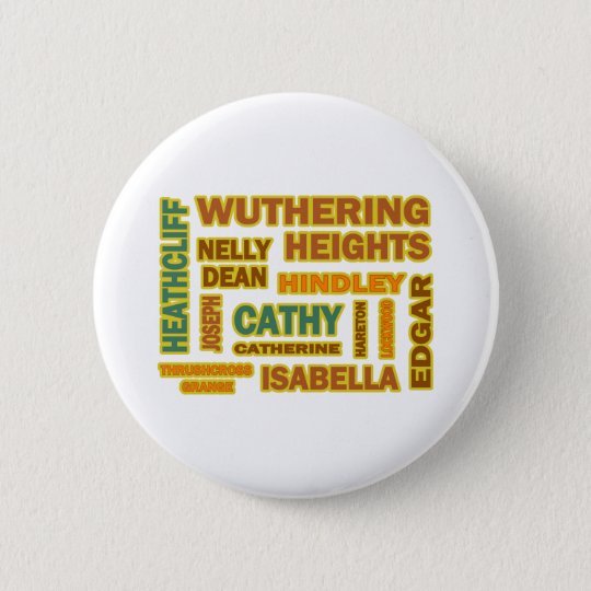 Wuthering Heights Characters Button