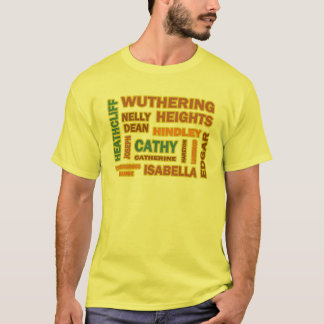 Wuthering Heights Characters T-Shirt