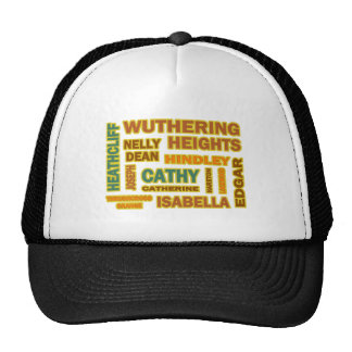 Wuthering Heights Characters Trucker Hat