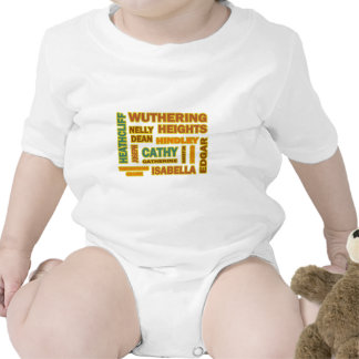 Wuthering Heights Characters Rompers