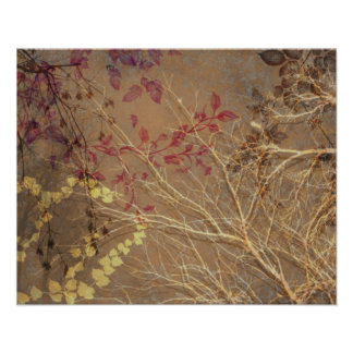 WUTHERING HEIGHTS, GHOSTLY BRANCHES: LATE AUTUMN POSTER