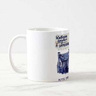 Wuthering Heights Basic White Mug