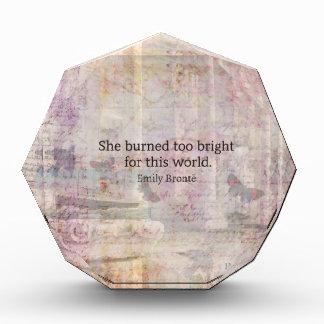 Wuthering Heights Quote by Emily Bronte Award