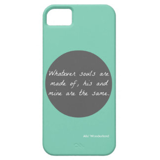"""Wuthering Heights"" Quote Phone Case"