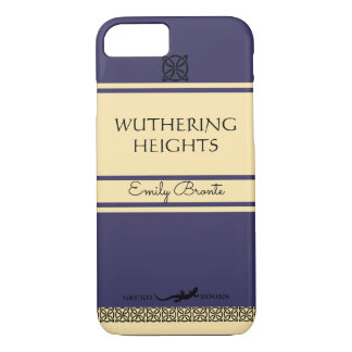 Wuthering Heights Retro Book Cover